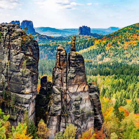 National Park Saxon Switzerland Фото со стока - 88608343