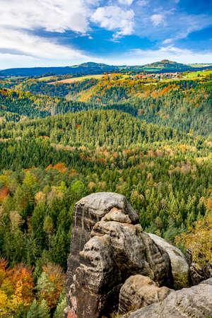 autumn colouring: National Park Saxon Switzerland