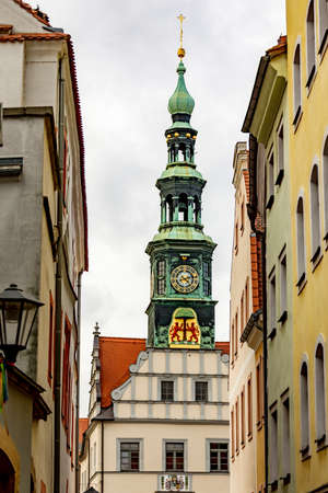 Town Hall of Pirna  Stock Photo