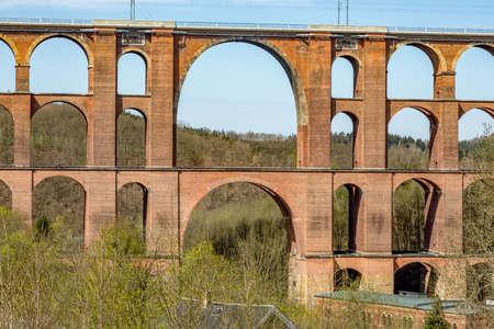 G?ltzschtal bridge from Mylau in the Vogtland