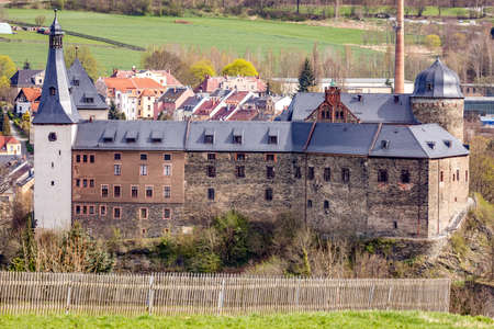 Imperial Castle of Mylau in the Vogtland