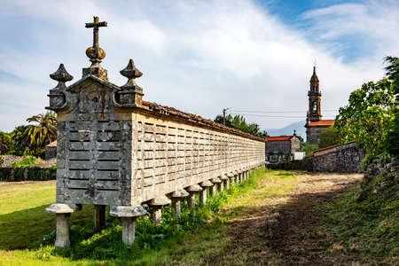 Horreo Reservoir in Galicia Spain