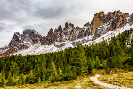 Nature Park Geisler-Puez in South Tyrol