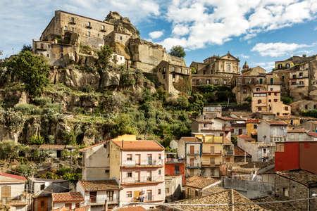 Castiglione di Sicilia 免版税图像