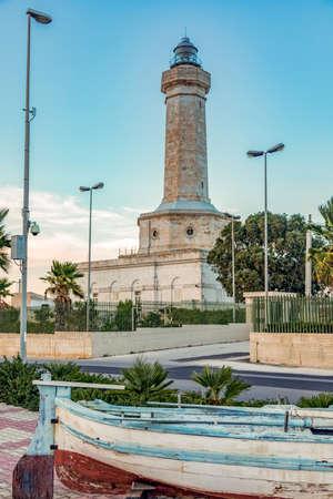 Lighthouse Portopalo of Sicily