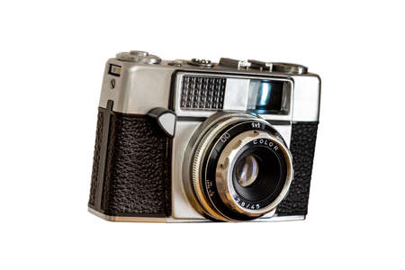 Isolated functional old analogue camera