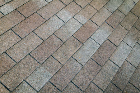 shingles: texture of brown roof,background