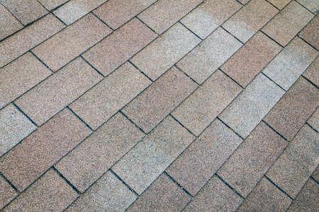 textuur van bruin dak, achtergrond