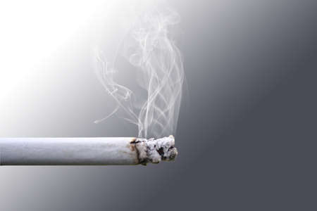 Cigarette Smoke Stock Photo - 14227610