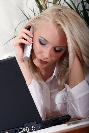 Business Call Stock Photo - 2347001