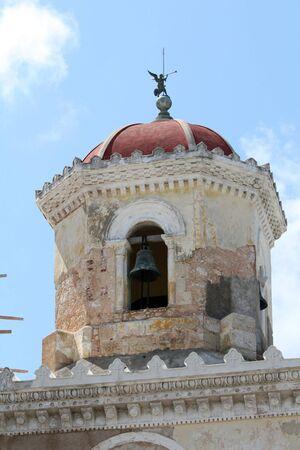 belfry: Belfry Of Church in the morning, cuba