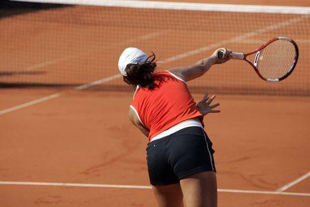 torneio: jogador de tênis feminino