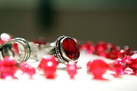 frippery: Silver Ring and accessories