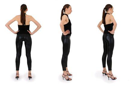 referenz: Portr�t der Frau im Studio, dieses Bild sollte ein Bezugsrahmen f�r die sketchings Computer-und 3D-Designer