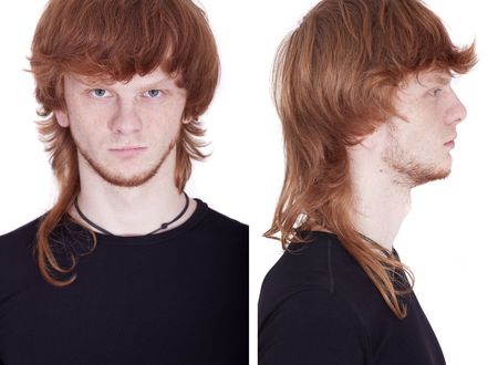 front and side view of man Stock Photo - 5889167