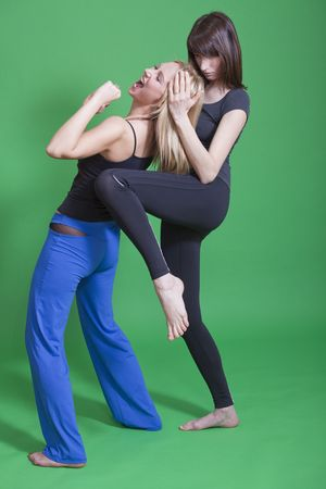 self defence classes for women Stock Photo - 6788906