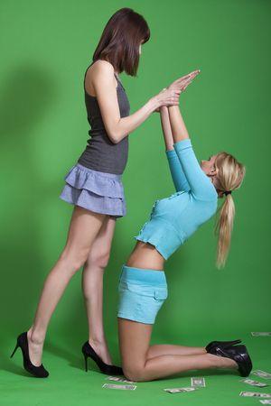 conflict between women photo