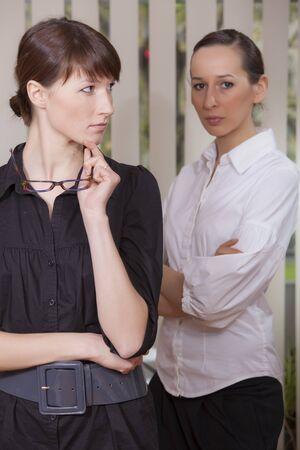 rivalry: rivalry in office - two women in conflict