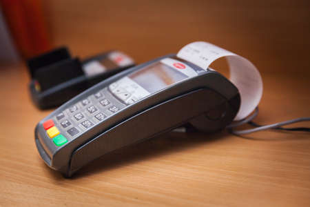 Payment by phone on a contactless payment terminal NFC
