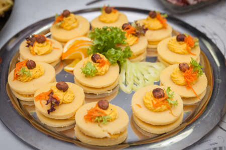 catering for corporate parties and weddings full of good food Stock Photo - 108049147