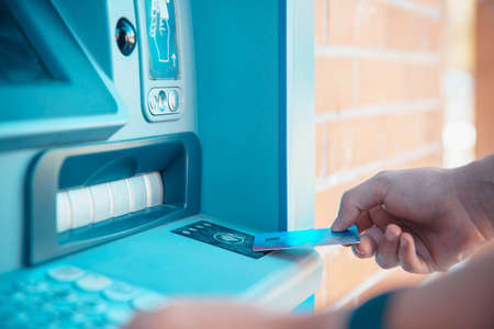 Wireless withdrawal from an ATM with a debit card