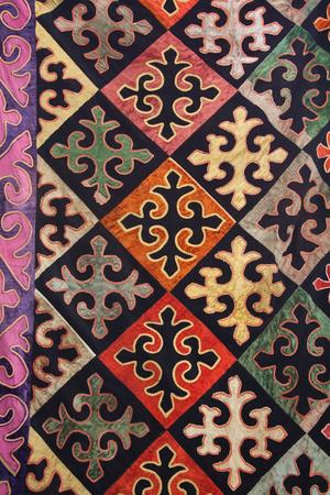 Traditional vintage embroidery from Bukhara, Uzbekistan