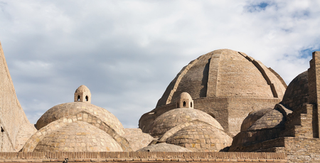 The intersections of main streets of medieval Bukhara served a purpose of trade, that caused a construction there of notable domed structures � taq(s) and tim(s). Taq-i Zargaron (