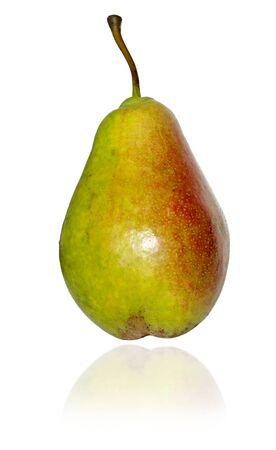Fresh pear isolated on white background Reklamní fotografie