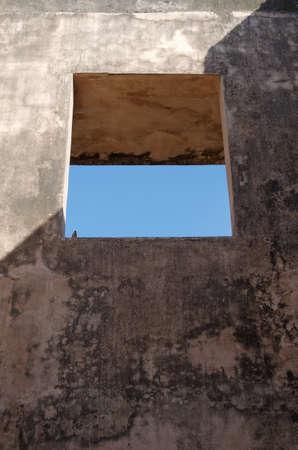 taman: window at pulo cemeti ruins, taman sari water