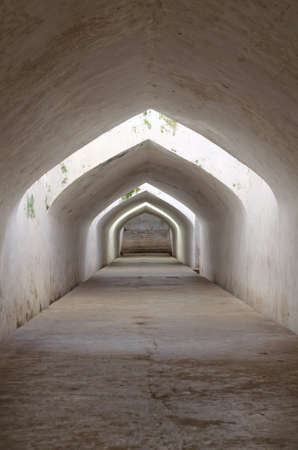 jogjakarta: sumur gumantung, the underground walkway tunnel, taman sari water castle - the royal garden of sultanate of jogjakarta