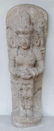 14th century: The Statue of Goddess Parvati, 14th century Stock Photo