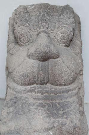 serves: Head of Kala Serves Statue, 8th - 10th century