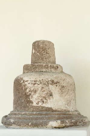 12th century: Stupa from The Top of Javanese Temple, 10th - 12th century