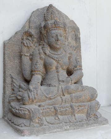 fertility goddess: The Statue of Dewi Sri, 12th - 14th century Stock Photo