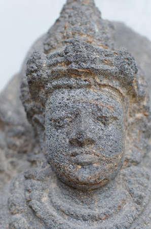fertility goddess: Head of The Dewi Sri Statue, 12th - 14th century