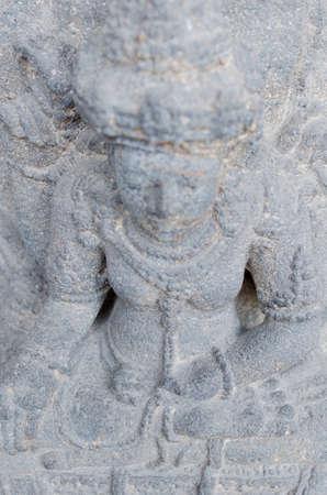 14th century: Head of The Dewi Sri Statue, 12th - 14th century