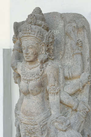 parvati: The Statue of Goddess Durga Mahisasura Mardhini, 10th century