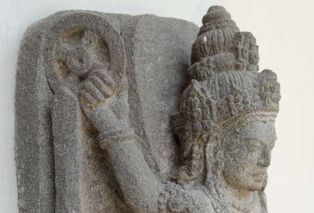shakti: Cakra Detail of The of Goddess Durga Mahisasura Mardhini Statue, 10th century