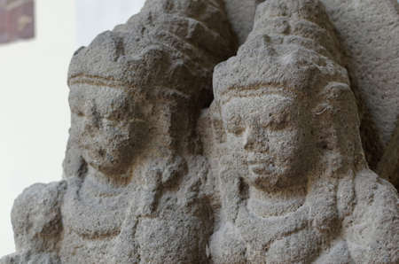vishnu: Close up of The Vishnu and Lakshmi Statue, 8th - 10th century
