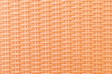 synthetic fiber: synthetic rattan texture weaving background Stock Photo