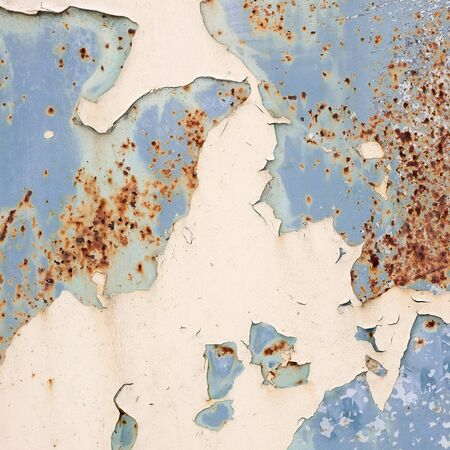 Abstract background  Texture metal with peeling paint  photo