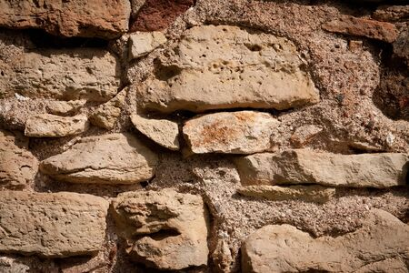 strengthening: Abstract background   texture of the old stone wall