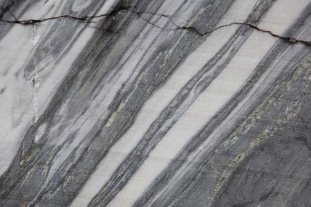 nature photo: Natural Karelian marble as background. Ruskeala career in Karelia, Russia. Stock Photo