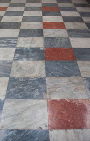 The floor  in the church of Santa Cristina in monselice photo