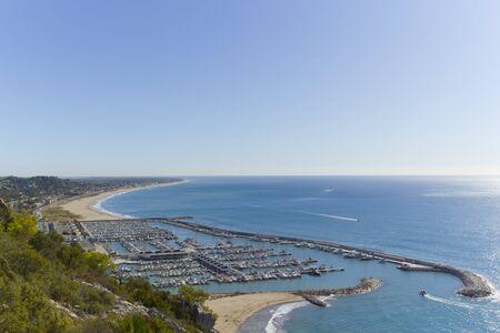 garraf: Views of the coastal village of Garraf, Barcelona