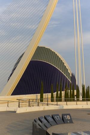 oceanographic: Valencia, Spain. October 15, 2011. The Oceanographer. October 15 2011.Edifice Oceanographic designed by architect Felix Candela, is the largest aquarium in Europe Editorial