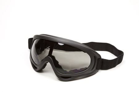 Protective glasses to use in varied sports or works Stock Photo