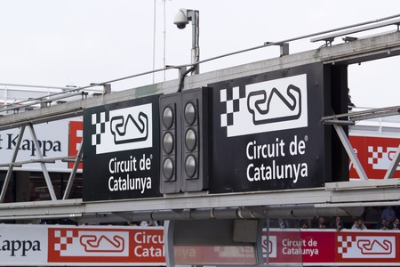 Traffic light circuit output speed of Catalonia, Spain
