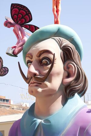 fiestas: Faults are very popular fiestas in Valencia with representations that are then burned