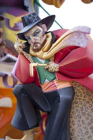 representations: Las fallas son fiestas muy populares en Valencia con las representaciones que luego se queman